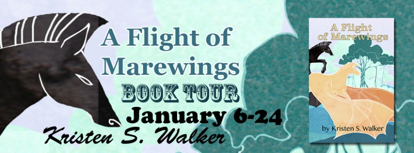 A Flight of Marewings Book Tour