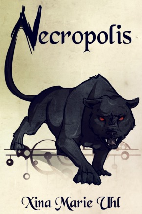 Cover art for fantasy adventure Necropolis by Xina Marie Uhl