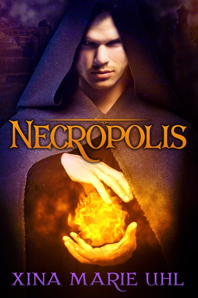 Cover art for Necropolis by Xina Marie Uhl