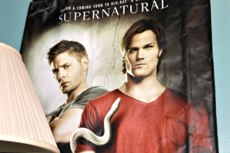 Sam and Dean Winchester from season 6 Supernatural