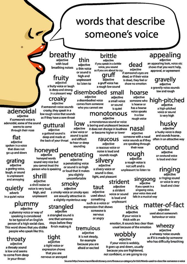 Voice Words