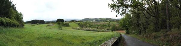 Galicia Spain panorama