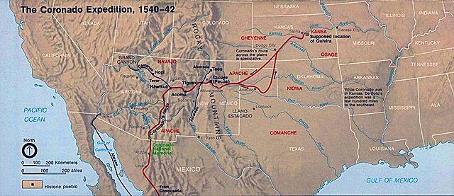 Coronado Expedition Conquistador Explorer